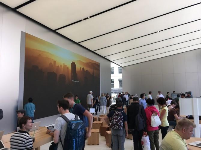 누구나, 언제든 들어와서 애플 제품에 대해서 이야기를 나누고, 활용 정보를 얻어갈 수 있는 공간이다. - 최호섭 제공
